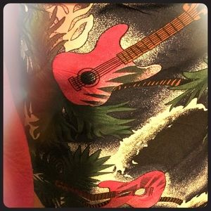 Rockin' Summer 2019 Hot Pink Guitar Sarong
